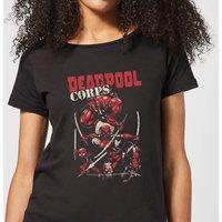 Marvel Deadpool Family Corps Women's T-Shirt - Black - M - Black