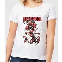 Marvel Deadpool Family Corps Women's T-Shirt - White - XL - White
