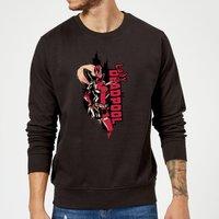 Marvel Deadpool Lady Deadpool Sweatshirt - Black - XL - Black