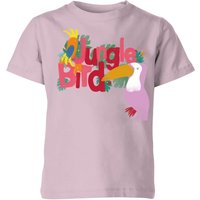 My Little Rascal Jungle Bird Baby Pink Kids' T-Shirt - 9-10 Years - Baby Pink - Baby Gifts