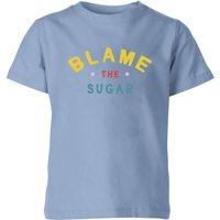 My Little Rascal Blame The Sugar - Baby Blue Kids' T-Shirt - 5-6 Years - Baby Blue - Sugar Gifts