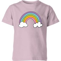 My Little Rascal Rainbow - Baby Pink Kids' T-Shirt - 11-12 Years - Baby Pink - Baby Gifts