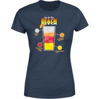 Infographic Sex On The Beach Women's T-Shirt - Navy - XXL - Navy - Beach Gifts