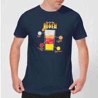 Infographic Sex On The Beach Men's T-Shirt - Navy - XXL - Navy - Beach Gifts