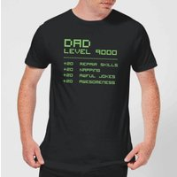 Dad Level Up Men's T-Shirt - Black - XXL - Black
