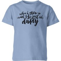 My Little Rascal When I Grow Up - Baby Blue Kids' T-Shirt - 7-8 Years - Baby Blue - Iwoot Gifts