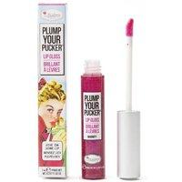 theBalm Plump Your Pucker Lip Gloss (Various Shades) - Magnify