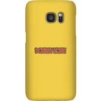Nintendo Donkey Kong Distressed Phone Case - Samsung S7 - Snap Case - Matte - Samsung Gifts