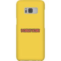 Nintendo Donkey Kong Distressed Phone Case - Samsung S8 - Snap Case - Matte - Samsung Gifts