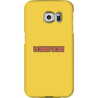 Nintendo Donkey Kong Distressed Phone Case - Samsung S6 Edge - Snap Case - Gloss - Samsung Gifts