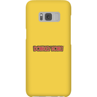 Nintendo Donkey Kong Distressed Phone Case - Samsung S8 - Snap Case - Gloss - Samsung Gifts