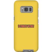 Nintendo Donkey Kong Distressed Phone Case - Samsung S8 - Tough Case - Gloss - Samsung Gifts