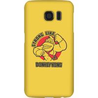Nintendo Donkey Kong Strong Like Donkey Kong Phone Case - Samsung S6 - Snap Case - Matte - Samsung Gifts