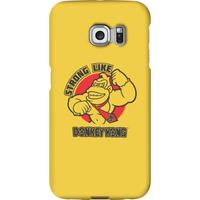 Nintendo Donkey Kong Strong Like Donkey Kong Phone Case - Samsung S6 Edge - Snap Case - Matte - Samsung Gifts