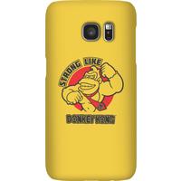 Nintendo Donkey Kong Strong Like Donkey Kong Phone Case - Samsung S7 - Snap Case - Matte - Samsung Gifts
