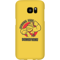 Nintendo Donkey Kong Strong Like Donkey Kong Phone Case - Samsung S7 Edge - Snap Case - Matte - Samsung Gifts