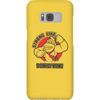 Nintendo Donkey Kong Strong Like Donkey Kong Phone Case - Samsung S8 - Snap Case - Matte - Samsung Gifts
