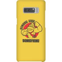 Nintendo Donkey Kong Strong Like Donkey Kong Phone Case - Samsung Note 8 - Snap Case - Matte - Samsung Gifts