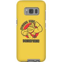 Nintendo Donkey Kong Strong Like Donkey Kong Phone Case - Samsung S8 - Tough Case - Gloss