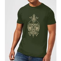 Stay Strong Athens Mens T-Shirt - Forest Green - XXL - Forest Green