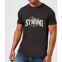 Stay Strong Logo Mens T-Shirt - Black - XXL - Black