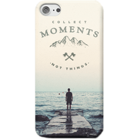 Collect Moments, Not Things Phone Case - Samsung S8 - Snap Case - Matte