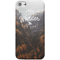 Not All Those Who Wander Are Lost Phone Case - iPhone 5C - Snap Case - Matte