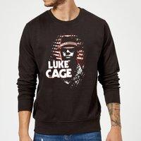 Marvel Knights Luke Cage Sweatshirt - Black - L - Black