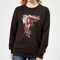 Marvel Knights Elektra Assassin Women's Sweatshirt - Black - XXL - Black