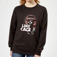 Marvel Knights Luke Cage Women's Sweatshirt - Black - M - Black