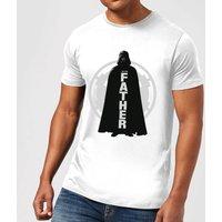 Star Wars Darth Vader Father Imperial Men's T-Shirt - White - XXL - White