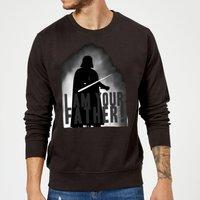 Star Wars Darth Vader I Am Your Father Silhouette Sweatshirt - Black - XXL - Black