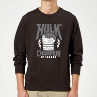 Marvel Thor Ragnarok Hulk Champion Sweatshirt - Black - XXL - Black
