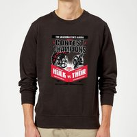Marvel Thor Ragnarok Champions Poster Sweatshirt - Black - XXL - Black - Superhero Gifts