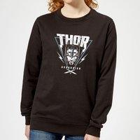 Marvel Thor Ragnarok Asgardian Triangle Women's Sweatshirt - Black - XL - Black - Superhero Gifts