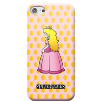 Nintendo Super Mario Princess Peach Peeking Phone Case - Samsung S6 Edge - Snap Case - Matte