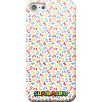 Nintendo Super Mario Toad Pattern Phone Case - Samsung S10 - Snap Case - Matte
