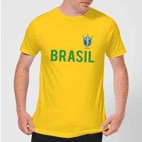 Toffs Brazil Country Men's T-Shirt - Yellow - M - Yellow