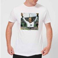 Shoot! Beckenbauer Celebration Men's T-Shirt - White - XS - White