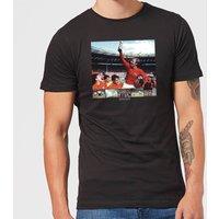 Shoot! England Men's T-Shirt - Black - XS - Black