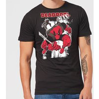 Marvel Deadpool Max Men's T-Shirt - Black - XS - Black