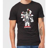 Marvel Deadpool Multitasking Men's T-Shirt - Black - XS