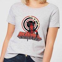 Marvel Deadpool Upside Down Women's T-Shirt - Grey - XL - Grey