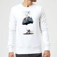 Marvel Deadpool Ice Cream Sweatshirt - White - XL - White