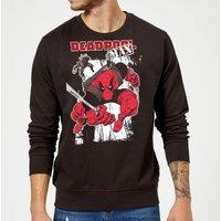 Marvel Deadpool Max Sweatshirt - Black - S - Black