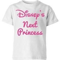 Disney Princess Next Kinder T-Shirt - Weiß - 3-4 Jahre - Weiß