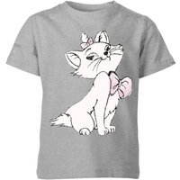 Disney Aristocats Marie Kids' T-Shirt - Grey - 5-6 Years - Grey - Disney Gifts