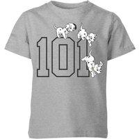 Disney 101 Dalmatians 101 Doggies Kids' T-Shirt - Grey - 5-6 Years - Grey