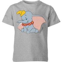 Disney Dumbo Classic Kids' T-Shirt - Grey - 11-12 Years