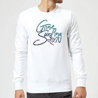 Gone Surfing Sweatshirt - White - XL - White